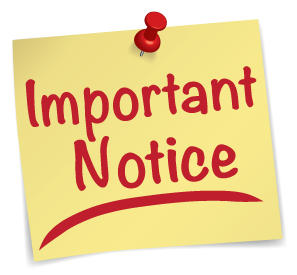 NOTICE OF UTILITY BILLING CHANGES / VEHICLE STICKER