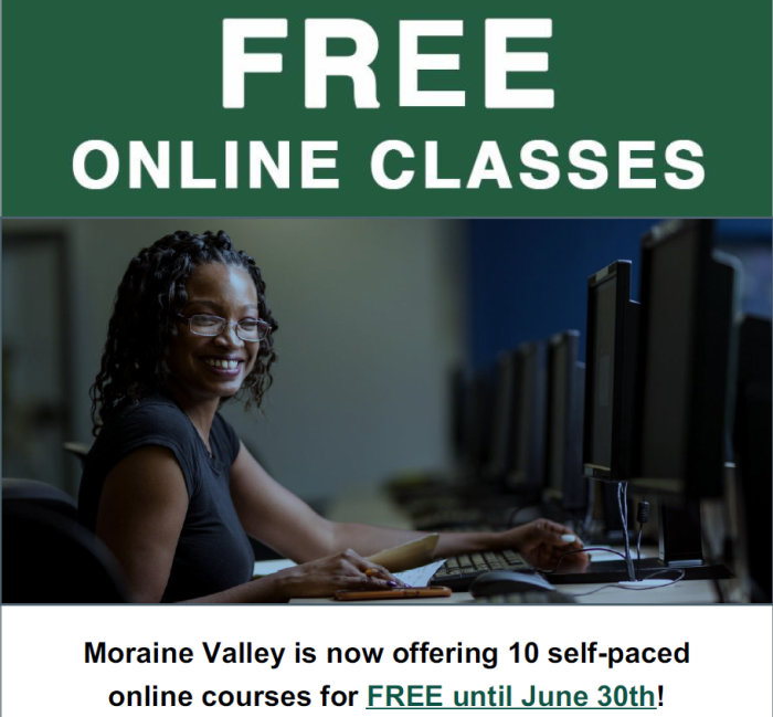 Moraine Valley Online Classes