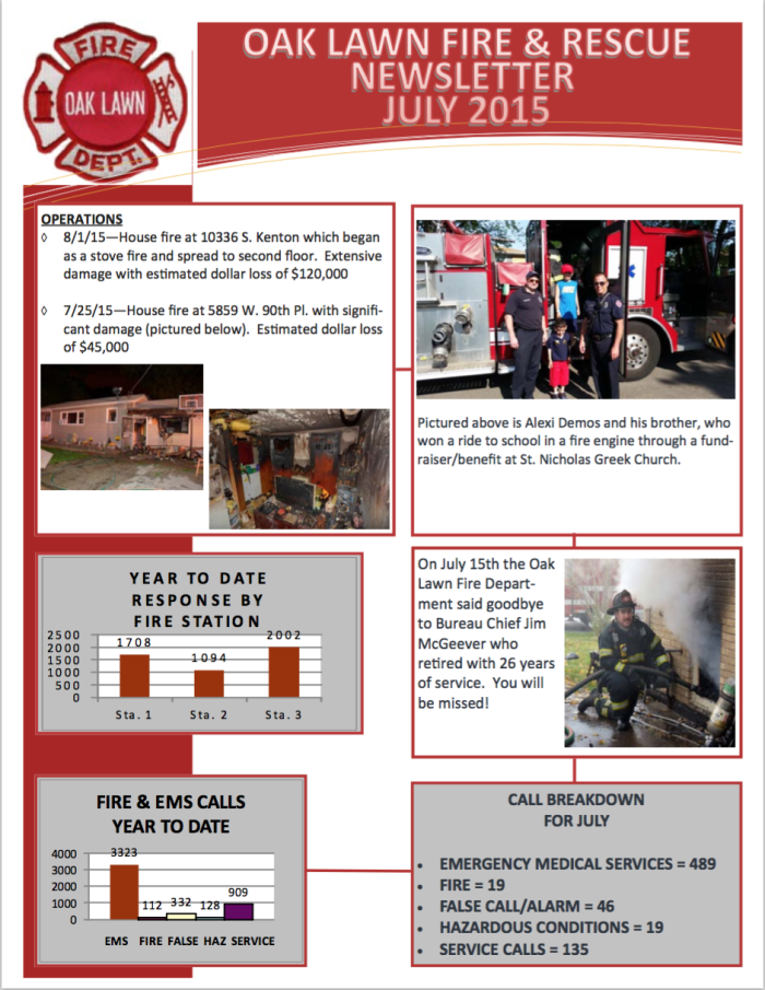 July OLFD Newsletter