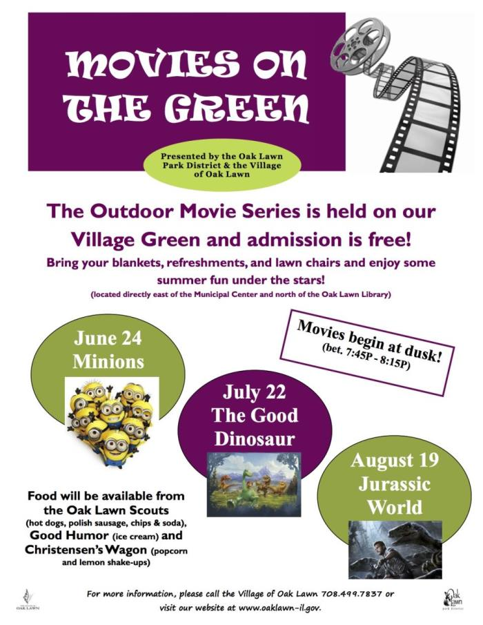 Movies on the Green 2016
