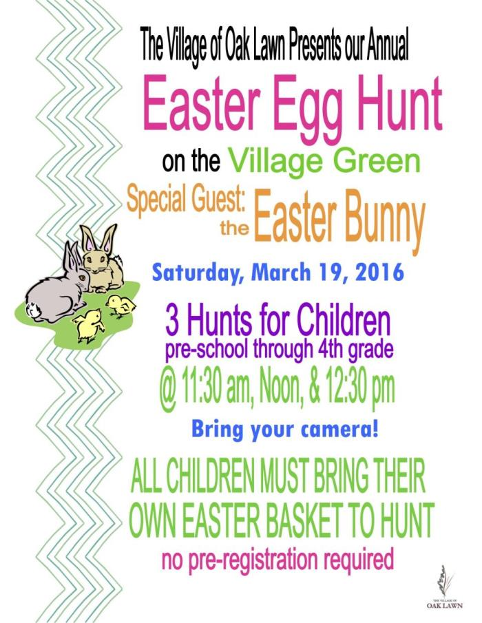 easter egg hunt 2016 flyer