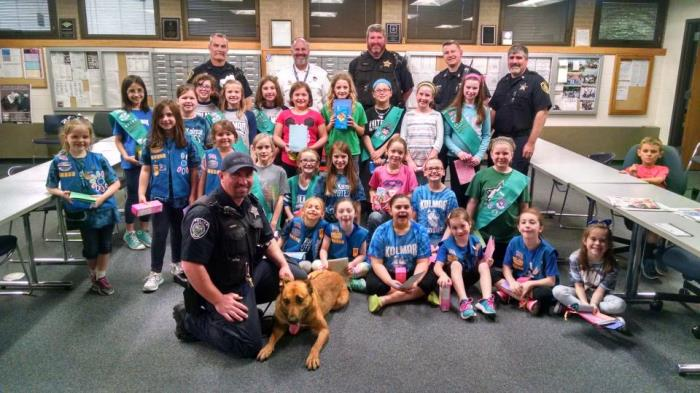 OLPD & Girls Scouts