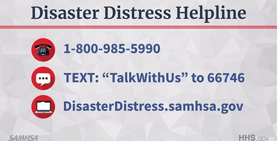 Disaster Distress Hotline